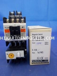 FUJI SW-03/3H 100V 5-8A ราคา 800 บาท