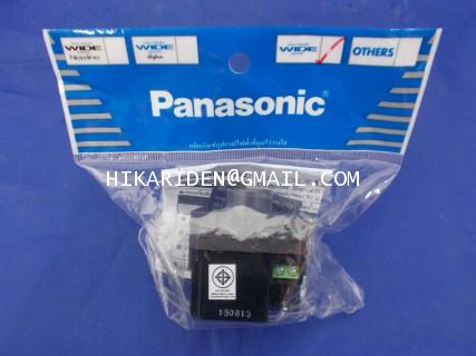 Panasonic สวิทซ์หรี่ไฟ 500วัตต์ สีเทา(ใช้ควบคุมไฟหลอดไส้) รุ่น WEG 57816 H ราคา 500 บาท