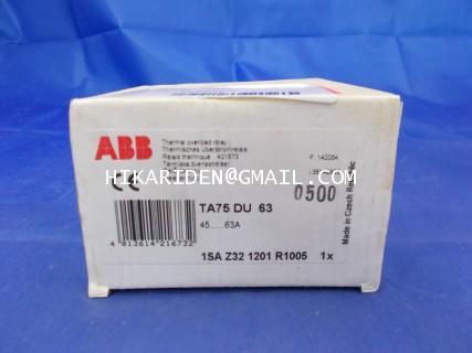 ABB TA75 DU63 ราคา 1,500 บาท