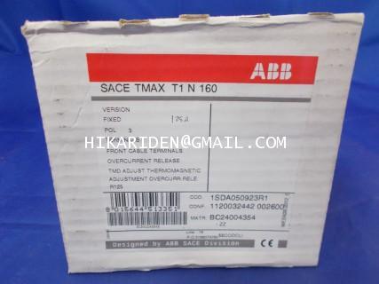 1SDA050923R1 SACE TMAX T1 N 160 ABB ราคา 1,000 บาท