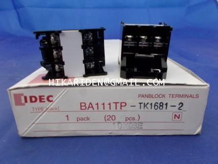 BA111TP-TK1681-2 IDEC ราคา 20.80 บาท