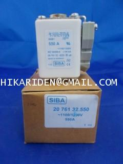 POWER ELECTRONICS THERMAL FUSE SQB1 20 761 32.550-1100/1200V 550A STBA ราคา 2,000 บาท