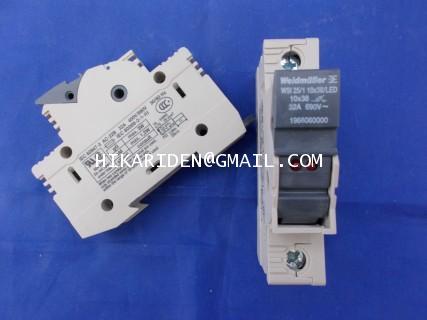 WSI 25/1 10x38/LED 32A 690V~ Weidmuller ราคา 100 บาท