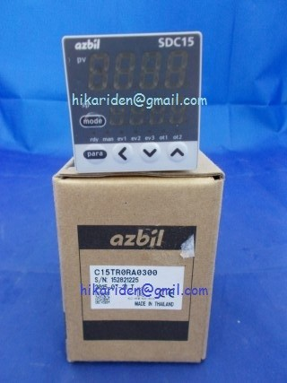 azbil C15TR0RA0300 (SDC15) ราคา 8,000 บาท
