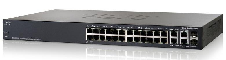 SG300-28 28-port Gigabit Managed Switch ราคา 20,130 บาท