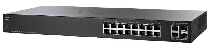SG 200-18 18-port Gigabit Smart Switch ราคา 9,570 บาท