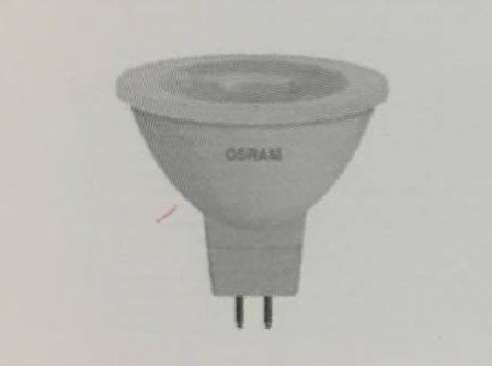 OSRAM หลอดแอลอีดี MR16 รุ่นสตาร์ (STAR) หรี่แสงไม่ได้4052899409763 SSMR16 50 24 5.4W/830ราคา 266 บาท