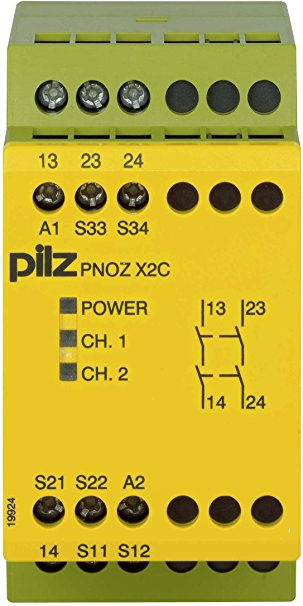 PilZ 774304 PNOZ X2C 24VAC/DC 2n/o