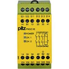 PilZ 774310 PNOZ X3 24VAC 24VDC 3n/o 1n/c 1so