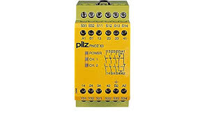 PilZ 774316 PNOZ X3 120VAC 24VDC 3n/o 1n/c 1so