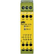 PilZ 774580 PZE X4V 0.5/24VDC 4n/o fix
