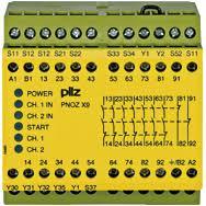 PilZ 774606 PNOZ X9 200-240VAC 24VDC 7n/o 2n/c 2so