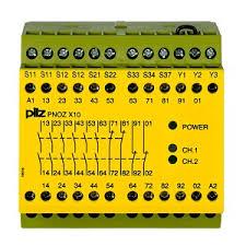 PilZ 774703 PNOZ X10 110-120VAC 6n/o 4n/c 3LED