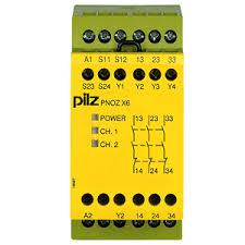 PilZ 774725 PNOZ X6 110-120VAC 3n/o