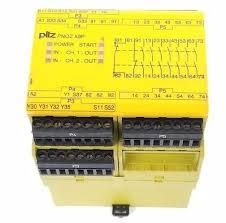 PilZ 777606 PNOZ X9P 24VDC 24-240VAC, 7n/o 2n/c 2so