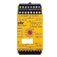 PILZ 777512 PNOZ XV3P 3/24 VDC 3n/o 2n/o t