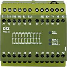 PILZ 774003 PNOZ 10 110-120VAC 6n/o 4n/c
