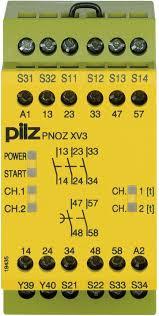 PILZ PNOZ XV3 0.5/24VDC 3n/o 2n/o t fix