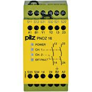 PILZ PNOZ 16 42VAC 24VDC 2n/o