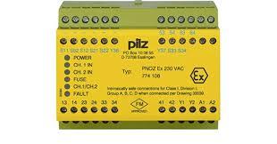 PILZ PNOZ EX 230VAC 3n/o 1n/c FM/USA