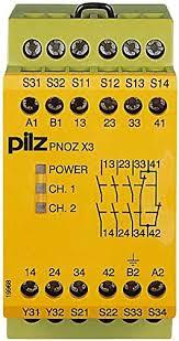 PILZ PNOZ X3 48VAC 24VDC 3n/o 1n/c 1so
