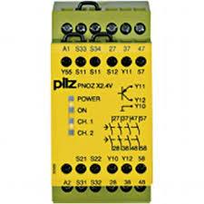 PILZ PNOZ X2.4V 1/24VDC 4n/o 1so fix