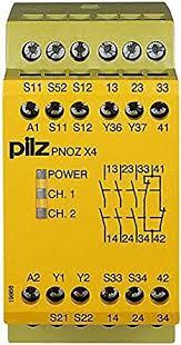 PILZ PNOZ X4 120VAC 3n/o 1n/c