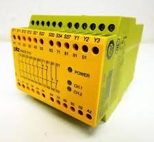 PILZ PNOZ X10 42VAC 6n/o 4n/c 3LED