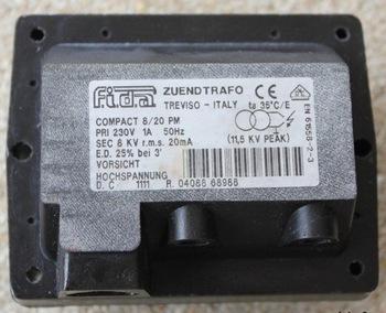 Fida zuendtrafo Compact 8/20 PM ignition transformer
