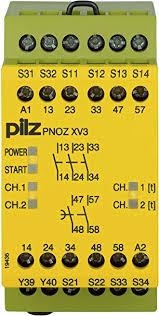 PILZ PNOZ XV3P 3/24VDC 3n/o 2n/o t fix