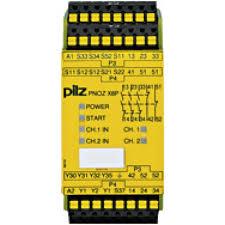 PILZ PNOZ X8P 120VAC 3n/o 2n/c 2so