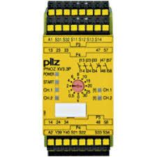 PILZ PNOZ XV3P C 30/24VDC 3n/o 2n/o t
