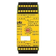 PILZ PNOZ XV3P C 3/24VDC 3n/o 2n/o t