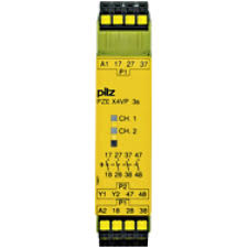 PILZ PZE X4VP C 3/24VDC 4n/o fix