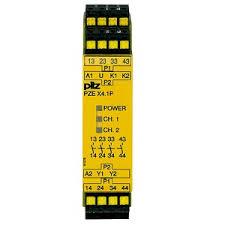 PILZ PZE X4.1P C 24-240VAC/DC 4n/o