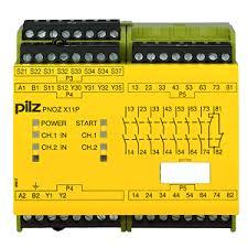 PILZ PNOZ X11P C 110-120VAC 7n/o 1n/c 2so