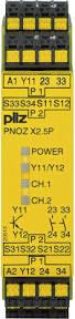 PILZ PNOZ X2.5P C 24VDC 2n/o 1so