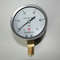 0~50kPa ITO KOKI K.K. Pressure Gauge