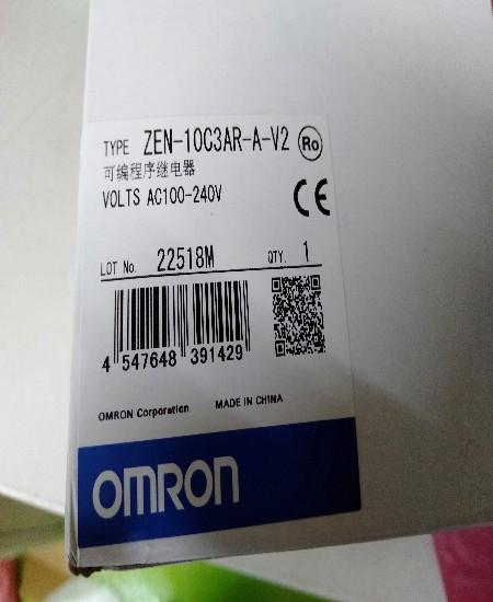 OMRON TYPE:ZEN-10C3AR-A-V2 ราคา2900บาท