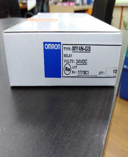 OMRON MY4N-GS 24VAC ราคา120บาท