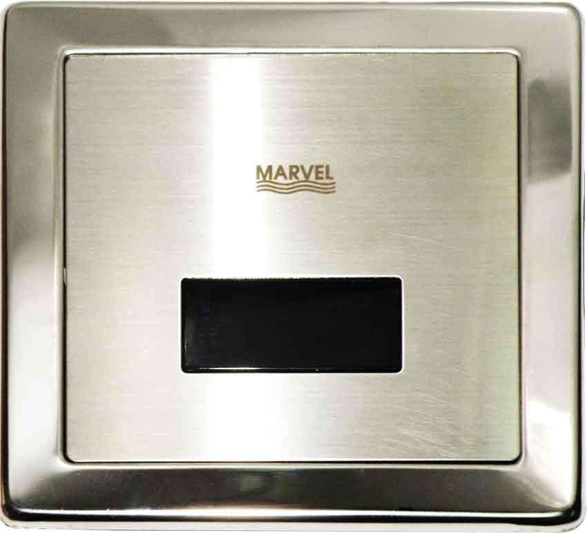 Marvel MU-102 ฟลัชวาล์วอัตโนมัติ เเบบฝังผนัง สำหรับโถปัสสาวะชาย ราคา 6600 บาท