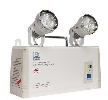 DYNO ชุดสำรองไฟฉุกเฉิน LD-115 แสง WARM WHITE ราคา 1800 บาท