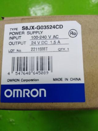 OMRON S8JX-G03524CD ราคา 1200 บาท