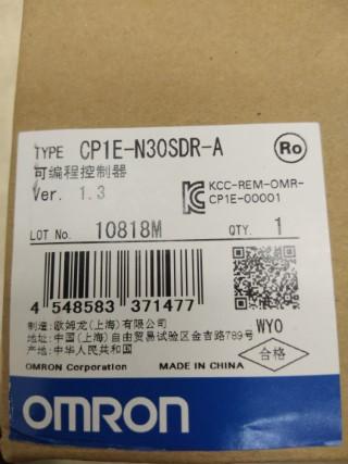 OMRON CP1E-N30SDR-A ราคา 4800 บาท