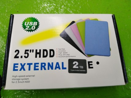 "USB 2.0 2.5""HDD EXTERNAL CASE ราคา 1950 บาท"