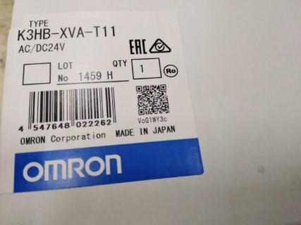 OMRON K3HB-XVA-T11 AC/DC24V ราคา 12200 บาท
