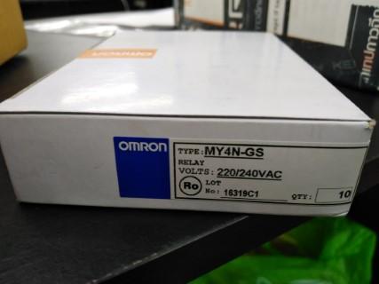 OMRON MY4N-GS 220VAC ราคา 120 บาท