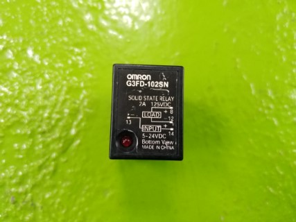 OMRON G3FD-102SN 5-24VDC ราคา 500บาท