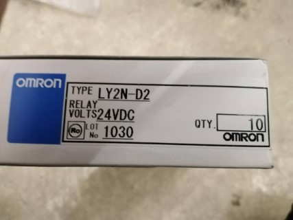 OMRON LY2N-D2 24VDC ราคา 331 บาท