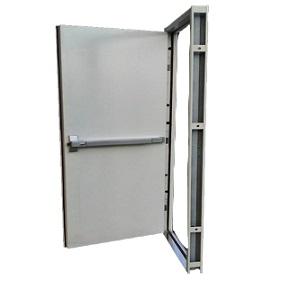 รุ่น DM-9 ประตูทนไฟบานเดี่ยว 90x200 cm. แบบคานผลัก ไม่รวมคานผลัก,กุญแจมือจับ,โช็คอัพ ราคา 11610 บาท